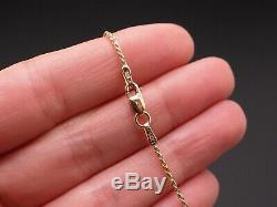 14k Yellow Gold 1ct Diamond Pave Puffed Heart Love Cluster Pendant Necklace 18