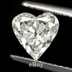 1ct CERTIFIED HEART SHAPE CUT DIAMOND G SI2 NATURAL PENDANT 1 CARAT ENGAGEMENT