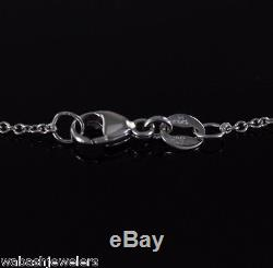 $4500 Hearts On Fire 18K White Gold Diamond Dream Mythical Pendant Necklace Star