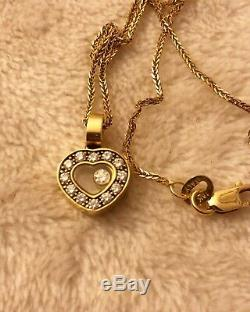 Chopard Happy diamond Heart Pendant With Necklace