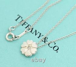 TIFFANY&Co Crown of Hearts Necklace Silver 925 with Diamond v1565