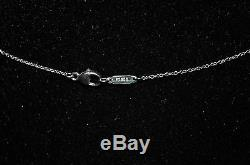 Tiffany & Co. Hearts Collection Diamond Heart Pendant Necklace in Platinum